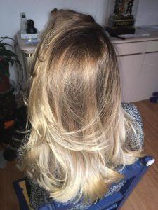 Ombré Hair sur cheveux longs