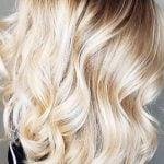 modèle balayage cheveux blonds