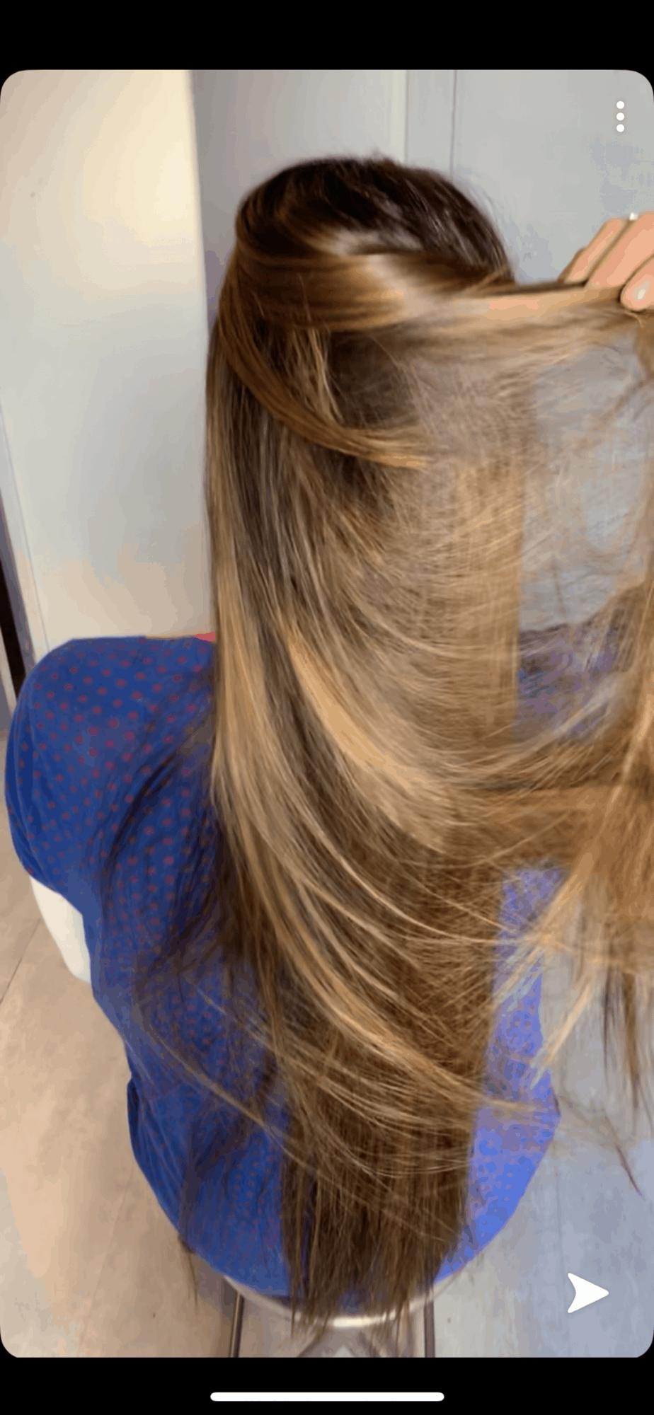 photo modèle sombré hair