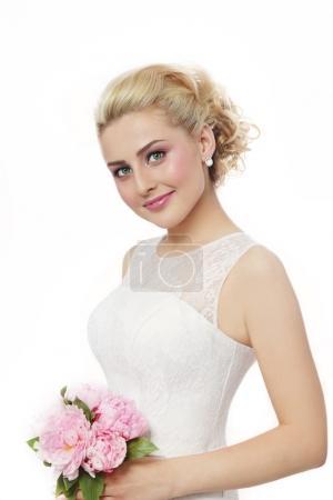 photo modèle de mariée