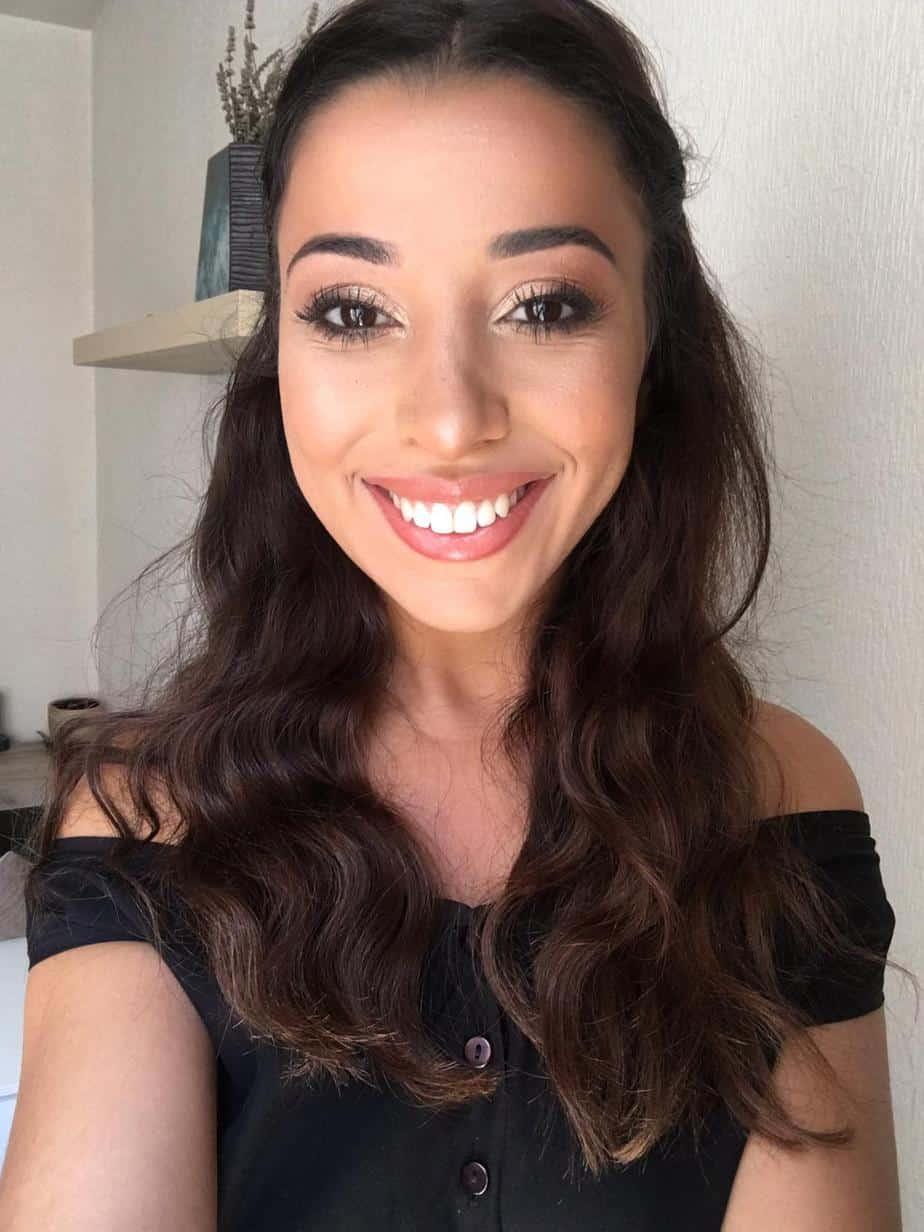 photo modèle maquillage