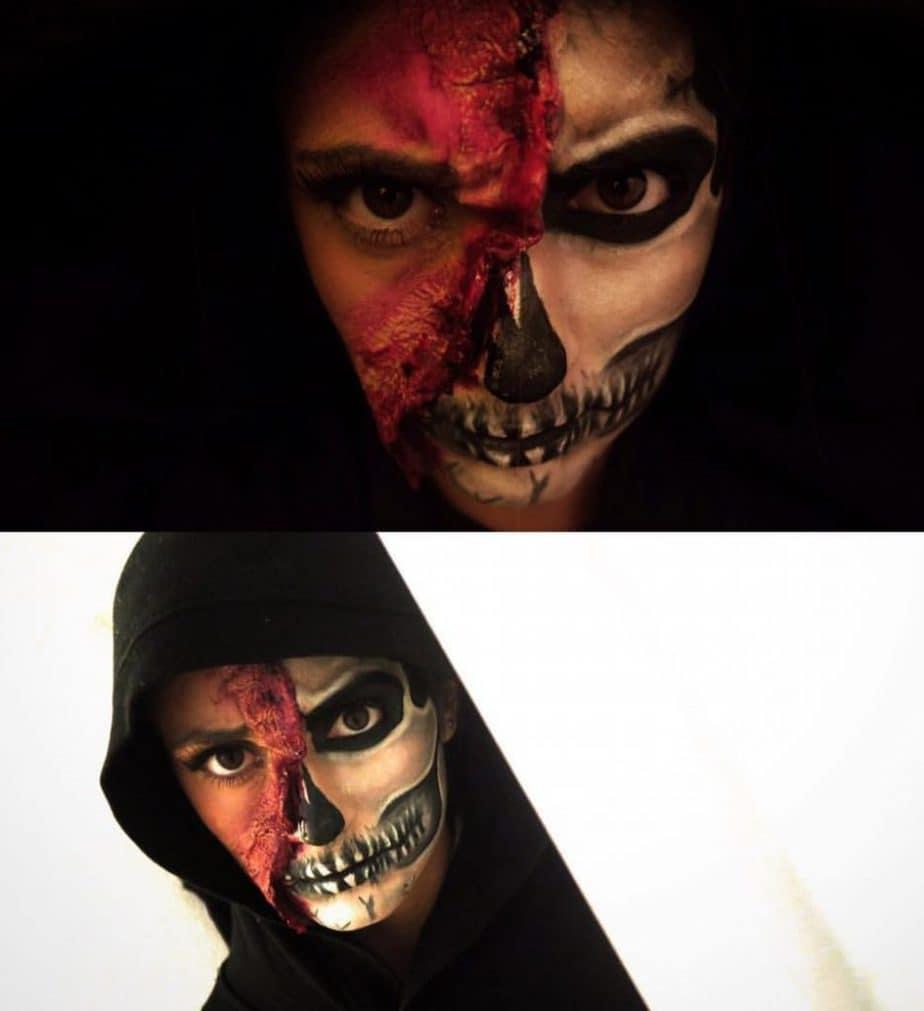 idée-maquillage-effet-spécial-Halloween-2019