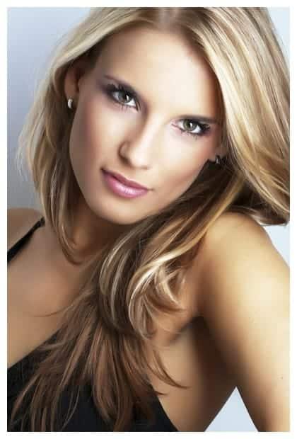 image modèle cheveux raide