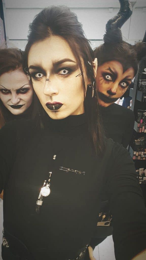 modèle-maquillage-effets-spéciaux-pour-Halloween-2019